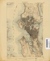 Map Of Seattle Wa by