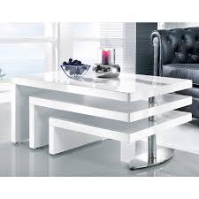 Wohnzimmer Tisch Herrlich Delife Wohnzimmertisch Strike Hochglanz Weiss 140x70 Cm