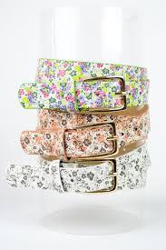 floral belt floral belt