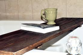 always chasing life diy rustic bath caddy