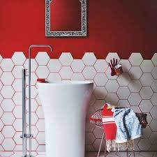 Red Rose Bathroom Accessories Bathroom Red Enticing For Wall Furnitures And Accessories Ideas