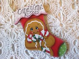 301 best painted gingerbread ornament images on