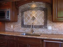 Stone Mosaic Tile Kitchen Backsplash by Simple Kitchen Tile Ideas Interior Design