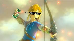 Link Meme - mlg zelda link vs meme machine youtube