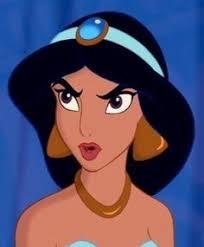 Princess Jasmine Meme - angry princess jasmine meme generator