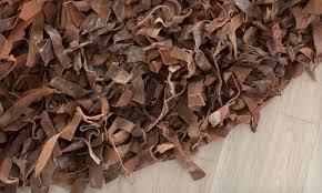 Leather Shag Rug Leather Shag Rugs Groupon Goods