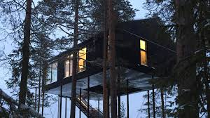 leaf it all behind new swedish forest retreats