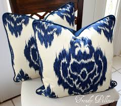 Ikat Home Decor Fabric by Decor U0026 Tips Velvet Ikat Fabric With Ikat Pillows For Ikat Lumbar