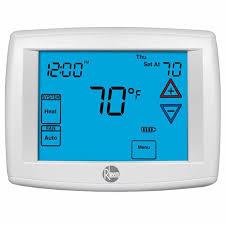rheem ac thermostats thermostat pinout