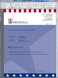 guard services sample proposal