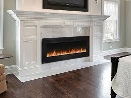 Electric Wall Mounted Fireplace Best 25 Electric Wall Fireplace Ideas On Pinterest Electric