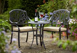 Garden Bistro Chairs Fantastic Garden Bistro Table And 2 Chairs With Unbranded Metal