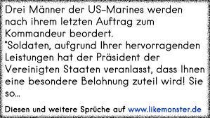 soldaten sprüche drei männer der us marines werden nach ihrem letzten auftrag zum