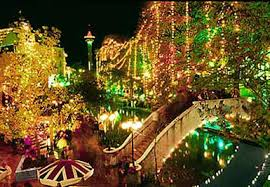 downtown san antonio christmas lights christmas on the river walk