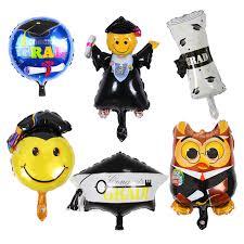 graduation party supplies hot seller mini luck graduate foil balloons graduation