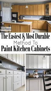 does paint last on kitchen cabinets how to paint cabinets with a sprayer diy kitchen remodel