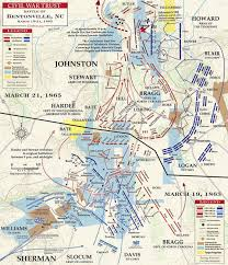 Map Of Georgia And Tennessee by Battle Of Bentonville Overview Civil War Trust