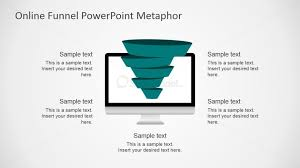 professional powerpoint template of sales funnel slidemodel