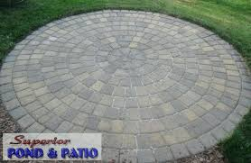 Patio Paver Kits Circular Patio Circular Patio Raised Patio Circular Patio