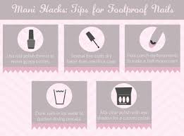 how to achieve a foolproof manicure at home