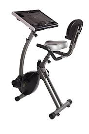standing desk exercise equipment amazon com wirk ride exercise bike workstation and standing desk