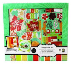 colorbok scrapbook colorbok tropical bay scrapbook kit 12x12 valuevalet ca
