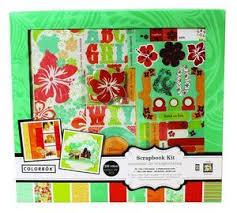 Colorbok Scrapbook Colorbok Tropical Bay Scrapbook Kit 12x12 Valuevalet Ca
