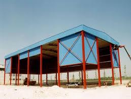 capannone in lamiera struttura metallica tonata in lamiera