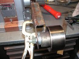 Diy Bench Sander Diy Belt Grinder Attachment For Your Bench Grinder The H A M B