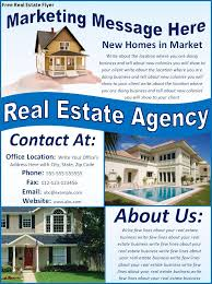 free real estate flyer templates free real estate flyers best word templates