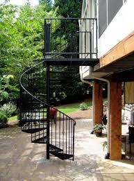 100 exterior spiral stair circular staircases the chicago