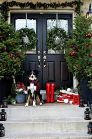 384 best christmas doors wreaths u0026 balls images on pinterest