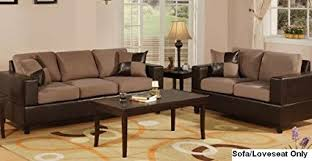 Living Room Furniture Seattle Seattle 2 Pcs Sofa And Loveseat Living Room Set In