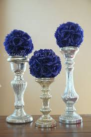 Black And Silver Centerpieces by 208 Best Cobalt Royal Blue Silver And White Wedding Ideas Images