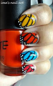 173 best butterfly nails images on pinterest butterfly