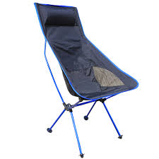 Lightweight Travel Beach Chairs 2017 New Portable Ultralight Collapsible Moon Leisure Camping