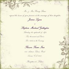 wedding invitation example plumegiant com