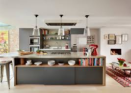 kitchen floating shelves kitchen contemporary with contemporary