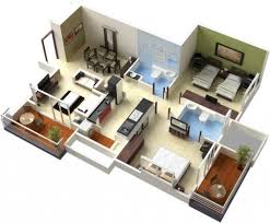 3d home interiors home design and plans 1000 images about 3d house plans amp floor