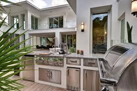 modern outdoor kitchen ideas outdoor white island outdoor white