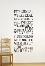 Dining Room Wall Quotes Best 25 Family Wall Ideas On Pinterest Family Wall Decor