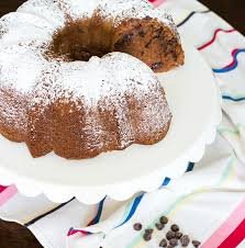 chocolate chip bundt cake on sutton place
