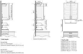 profondeur meuble cuisine profondeur meuble haut cuisine20170706012930 arcizo partout