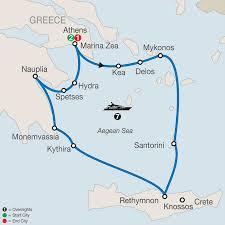Odyssey Map Athens U0026 Continental Greece Tour Globus Escorted Tours