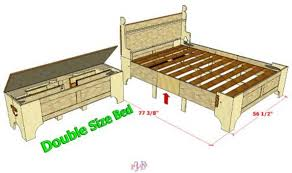 smaller sized for a double sized bed but adjustable bed in a
