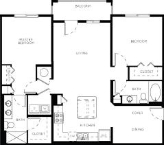 2 bedroom floorplans luxury apartment floor plans 33