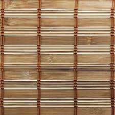chicology bamboo woven privacy roman shades in squirrel products