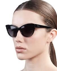 dior cat eye sunglasses in brown for men lyst