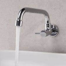 wall mount kitchen sink faucet kitchen chrome wall mount home faucets ebay