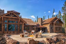 foxtail residence big sky log cabins by teton heritage builders